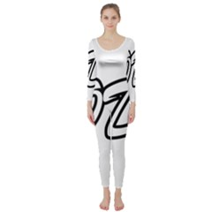 Code White Long Sleeve Catsuit