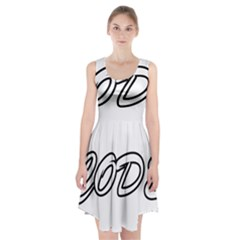 Code White Racerback Midi Dress
