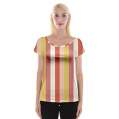 Candy Corn Cap Sleeve Tops by snowwhitegirl