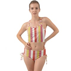 Candy Corn Mini Tank Bikini Set by snowwhitegirl