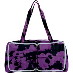 Purple Camouflage Multi Function Bag