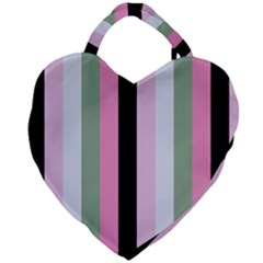 Electric Sunday Giant Heart Shaped Tote
