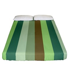 Pistachio Ice Cream Fitted Sheet (california King Size)