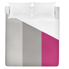 Laura Lines Duvet Cover (queen Size) by snowwhitegirl