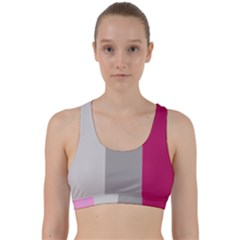 Laura Lines Back Weave Sports Bra