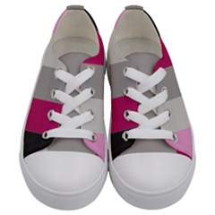 Laura Lines Kids  Low Top Canvas Sneakers