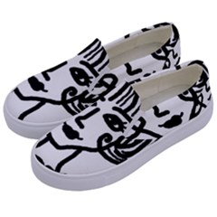 20s Girl Kids  Canvas Slip Ons by snowwhitegirl