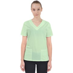 Baby Green Scrub Top by snowwhitegirl
