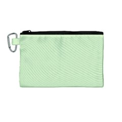 Baby Green Canvas Cosmetic Bag (medium) by snowwhitegirl