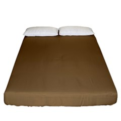 Brownish Fitted Sheet (king Size) by snowwhitegirl
