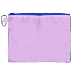 Baby Purple Canvas Cosmetic Bag (xxl) by snowwhitegirl