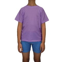 Uva Purple Kids  Short Sleeve Swimwear by snowwhitegirl