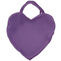 Uva Purple Giant Heart Shaped Tote by snowwhitegirl