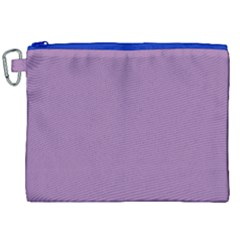 Uva Purple Canvas Cosmetic Bag (xxl) by snowwhitegirl