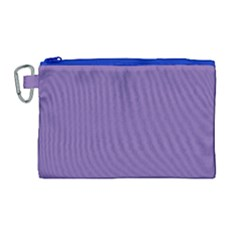 Purple Star Canvas Cosmetic Bag (large) by snowwhitegirl