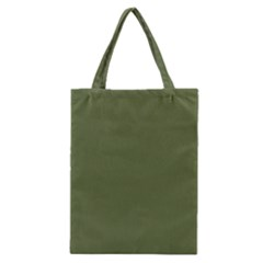 Earth Green Classic Tote Bag by snowwhitegirl