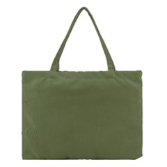 Earth Green Medium Tote Bag by snowwhitegirl