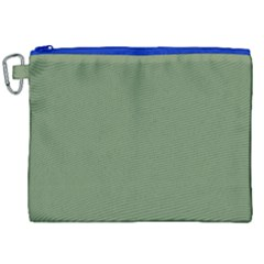 Army Green Canvas Cosmetic Bag (xxl) by snowwhitegirl