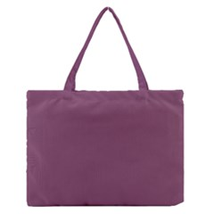 Medium Grape Zipper Medium Tote Bag by snowwhitegirl