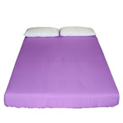 Purple Whim Fitted Sheet (queen Size)