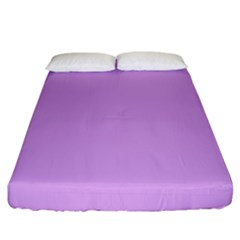 Purple Whim Fitted Sheet (california King Size) by snowwhitegirl