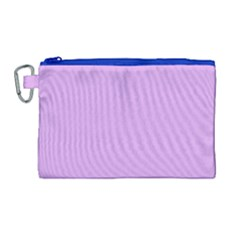 Purple Whim Canvas Cosmetic Bag (large)