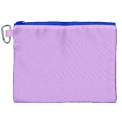 Purple Whim Canvas Cosmetic Bag (xxl) by snowwhitegirl