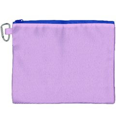 Purple Whim Canvas Cosmetic Bag (xxxl) by snowwhitegirl