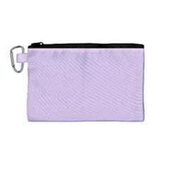 Baby Lilac Canvas Cosmetic Bag (medium)