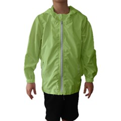 Grassy Green Hooded Wind Breaker (kids)