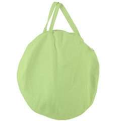 Grassy Green Giant Round Zipper Tote by snowwhitegirl