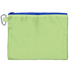 Grassy Green Canvas Cosmetic Bag (xxl) by snowwhitegirl