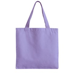 Violet Sweater Zipper Grocery Tote Bag by snowwhitegirl