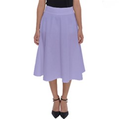 Violet Sweater Perfect Length Midi Skirt by snowwhitegirl