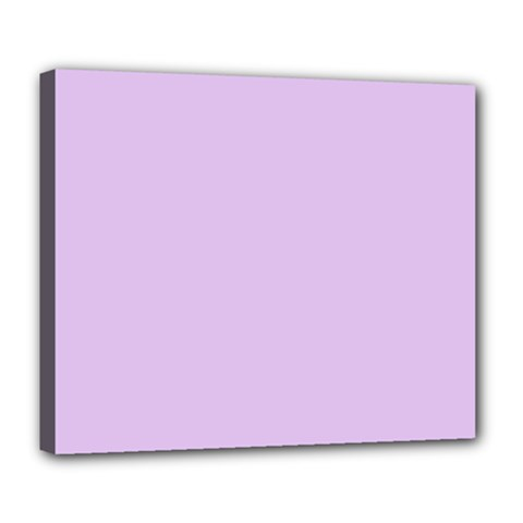 Lilac Morning Deluxe Canvas 24  X 20   by snowwhitegirl