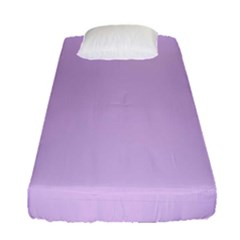 Lilac Morning Fitted Sheet (single Size)