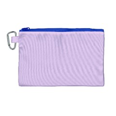 Lilac Morning Canvas Cosmetic Bag (large) by snowwhitegirl