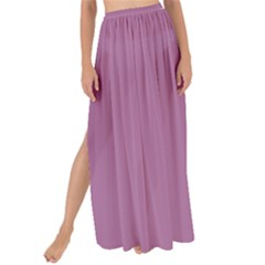 Silly Purple Maxi Chiffon Tie Up Sarong