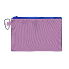 Silly Purple Canvas Cosmetic Bag (large) by snowwhitegirl