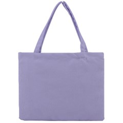 Grey Violet Mini Tote Bag by snowwhitegirl