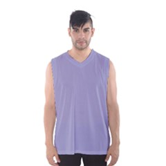 Grey Violet Men s Basketball Tank Top by snowwhitegirl