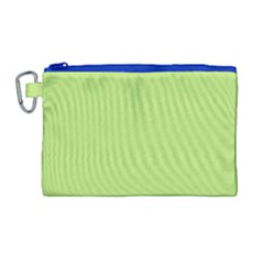 Minty Canvas Cosmetic Bag (large)