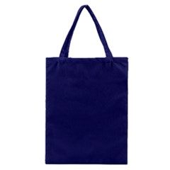 Dark Navy Classic Tote Bag by snowwhitegirl