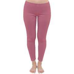 Pink Mauve Classic Winter Leggings by snowwhitegirl