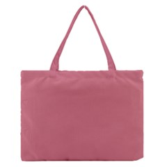 Pink Mauve Zipper Medium Tote Bag by snowwhitegirl