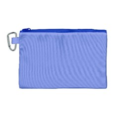 Lake Blue Canvas Cosmetic Bag (large) by snowwhitegirl