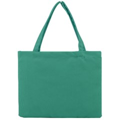 Teal Ocean Mini Tote Bag