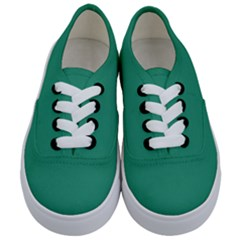 Teal Ocean Kids  Classic Low Top Sneakers