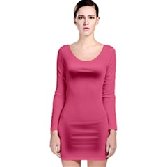 Rosey Day Long Sleeve Bodycon Dress