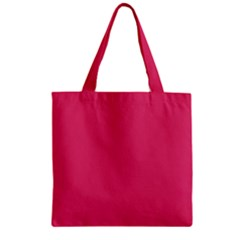 Rosey Day Zipper Grocery Tote Bag